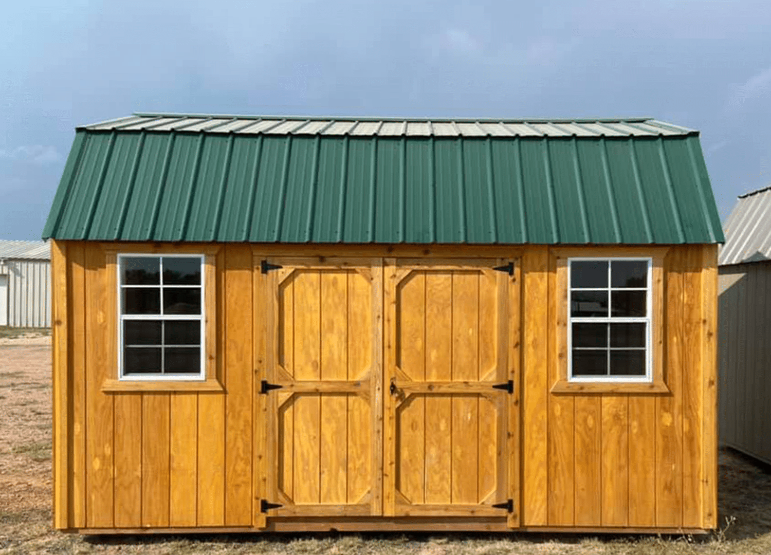 Yoder's Storage Sheds | Side Lofted Barn | Portable Building | Colorado