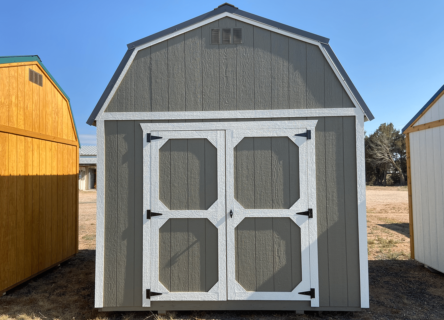 Yoder's Storage Sheds | 10x12 Lofted Barn | Colorado