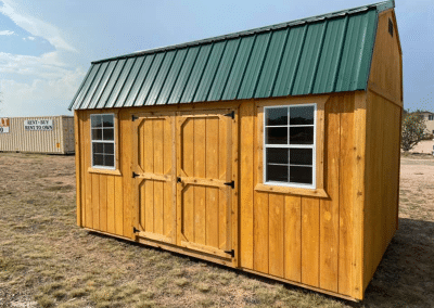 Rustic Side Lofted Barn | Yoder's Storage Sheds | Colorado
