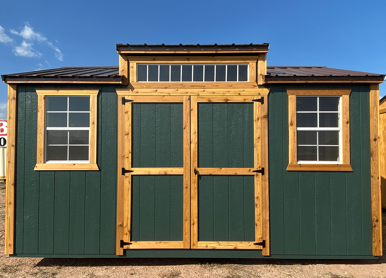 Yoder's Storage Sheds | Deluxe Utility | Portable Building | Storage Organization | Colorado