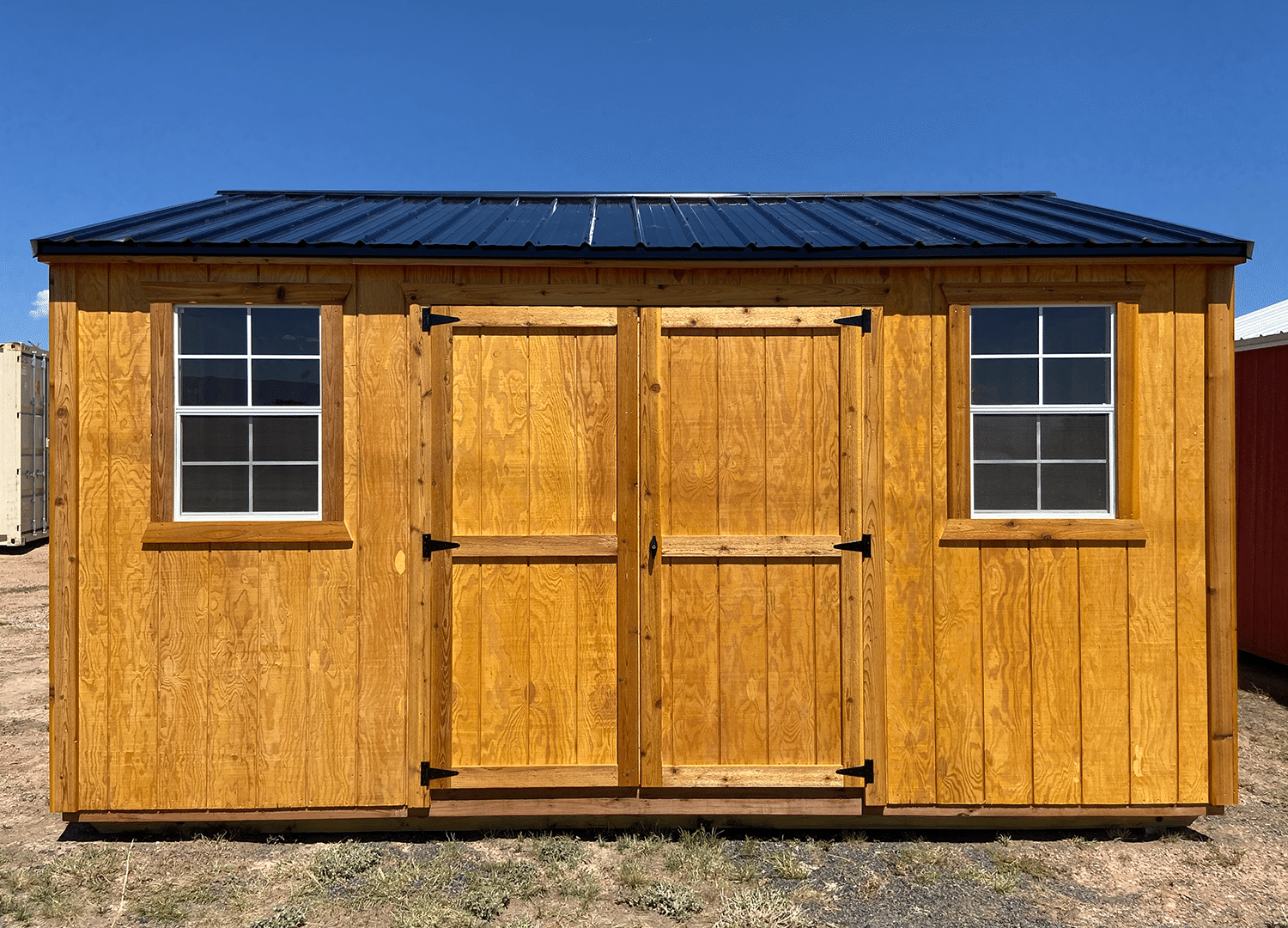 Yoder's Storage Sheds | Side Utility | Portable Building | Colorado
