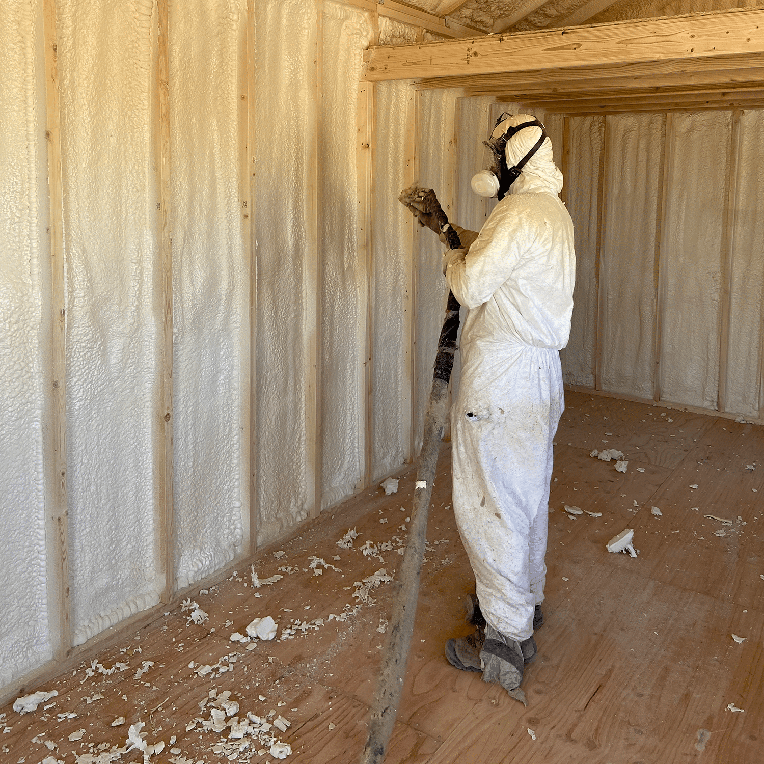 Yoder's Storage Sheds | Custom Options | Spray Foam Insulation