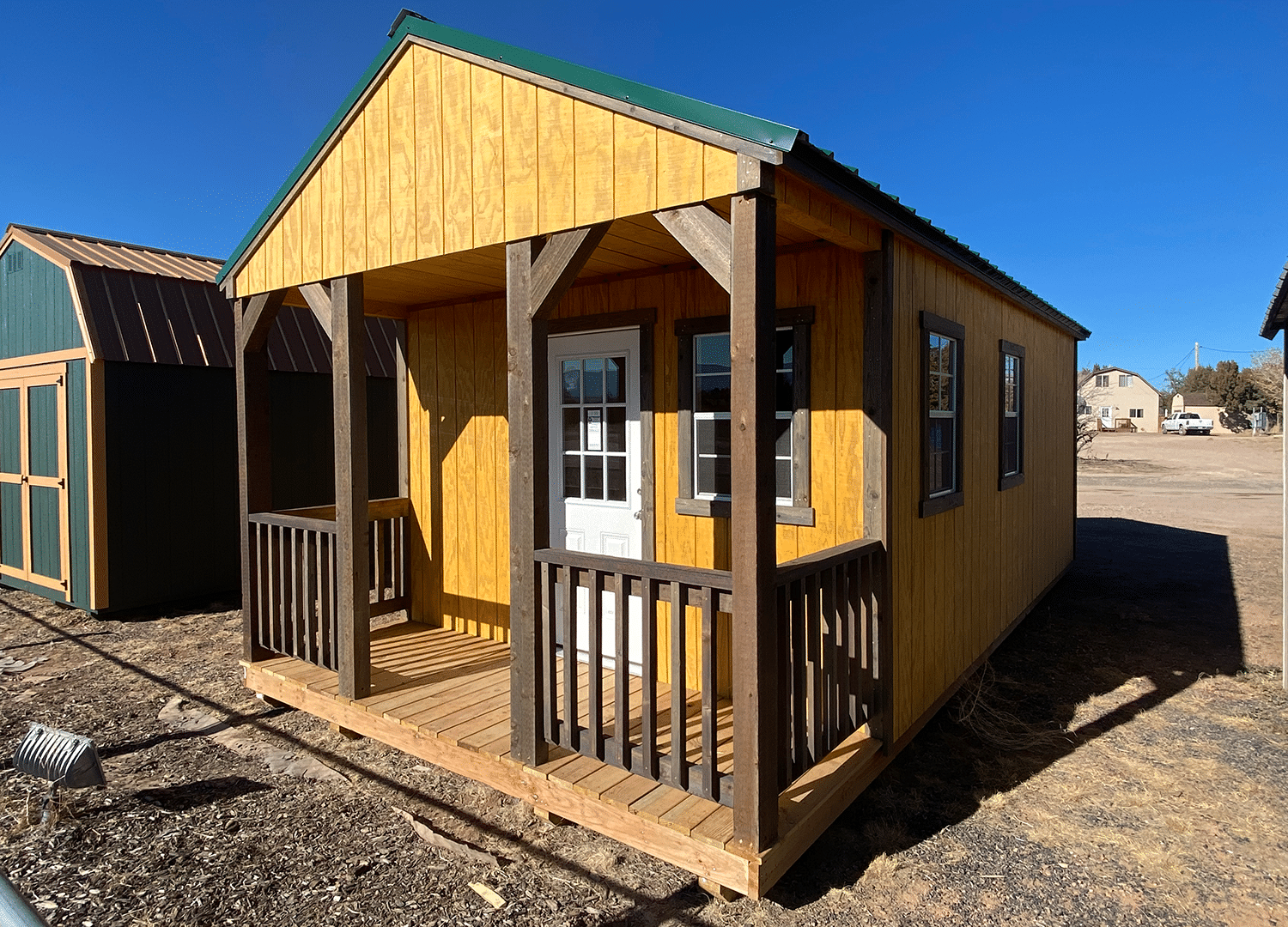 Yoder's Storage Sheds | Utility with Porch | Portable Buildings | Colorado