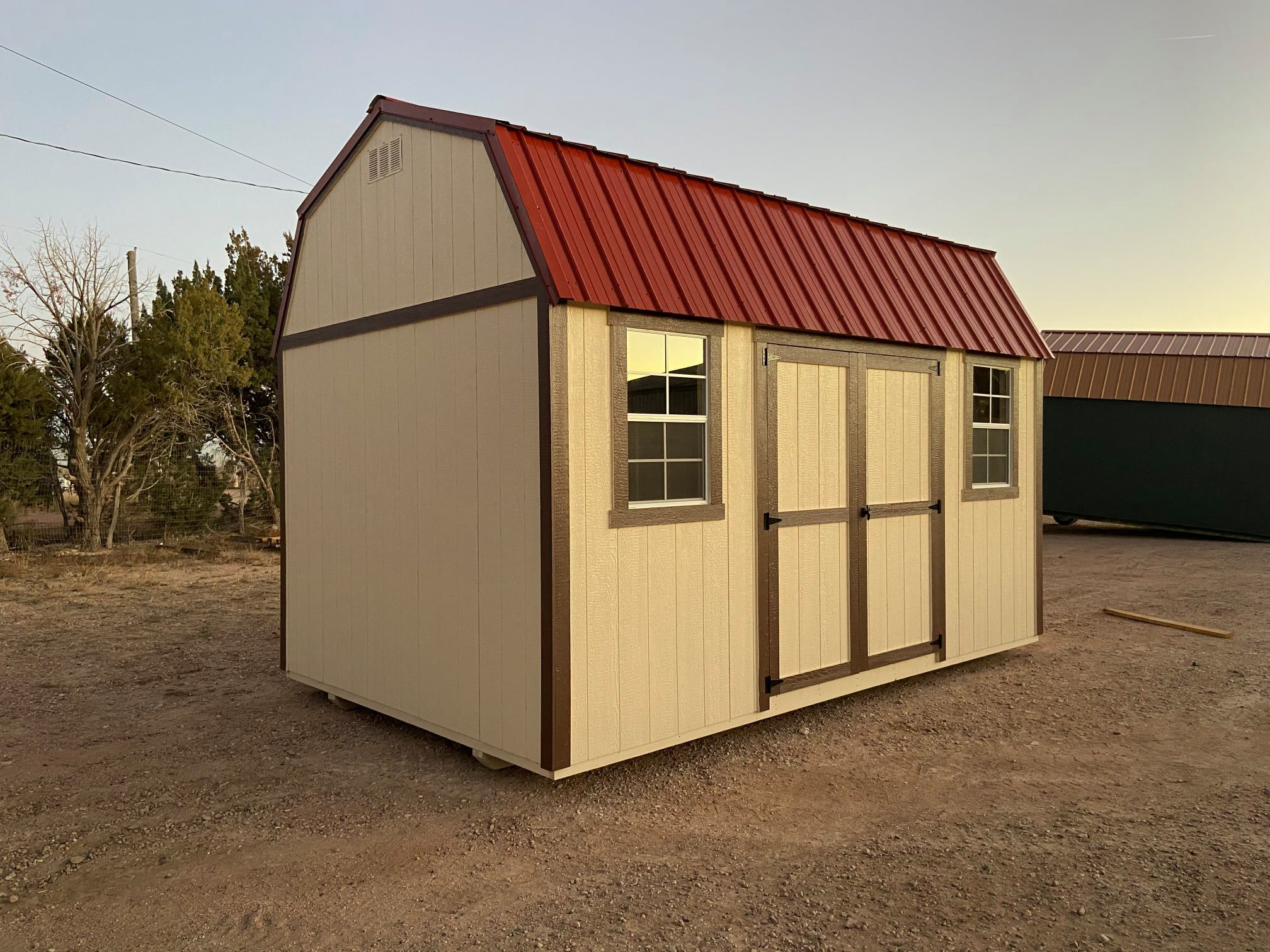 Yoder's Storage Sheds | Shed Foundation | Side Lofted Barn