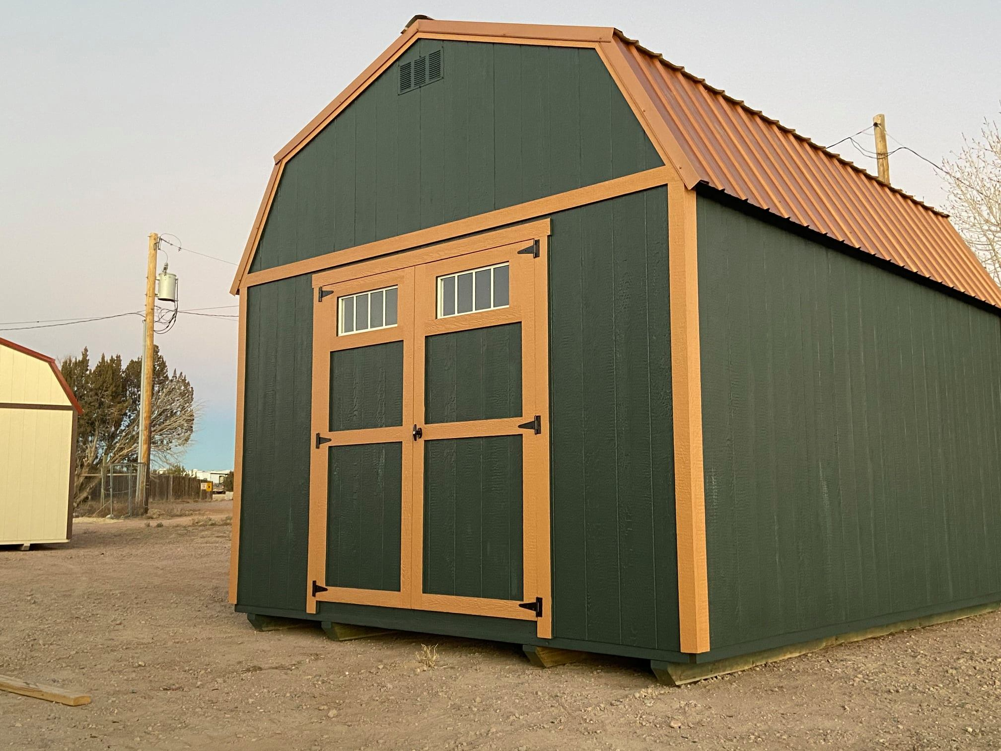 Yoder's Storage Sheds | Shed Foundation | Lofted Barn