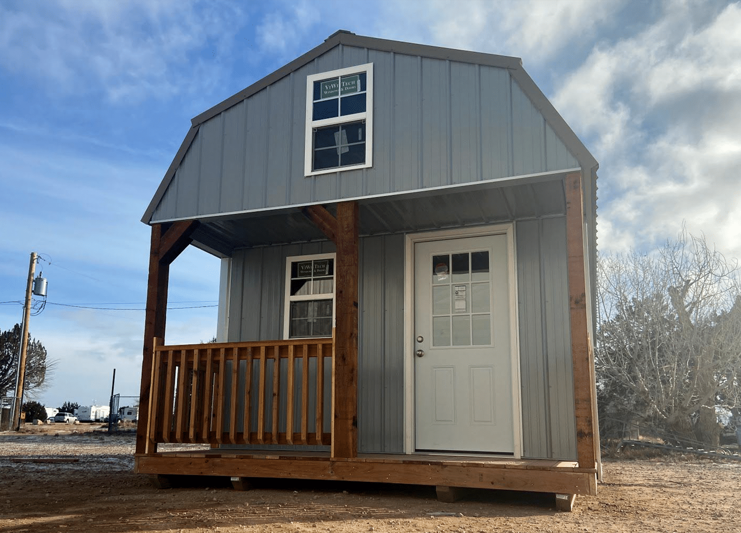 Yoder's Storage Sheds | Lofted Barn with Porch | Sheds | Portable Buildings