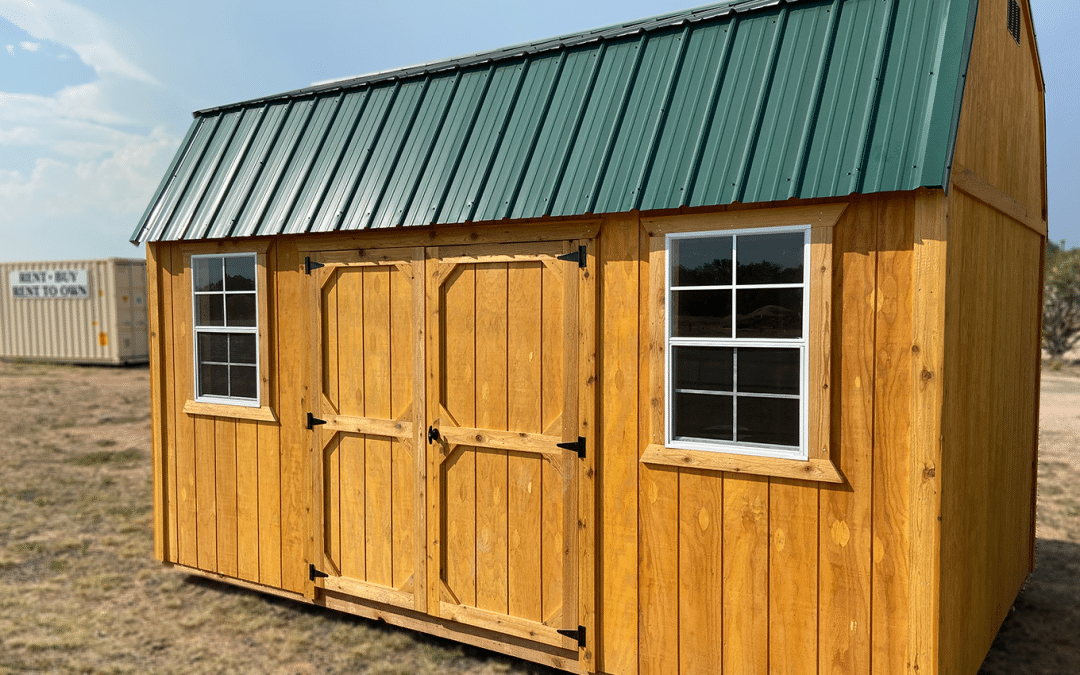 12×16 Side Lofted Barn: 2020's Most Popular Outdoor Storage Shed