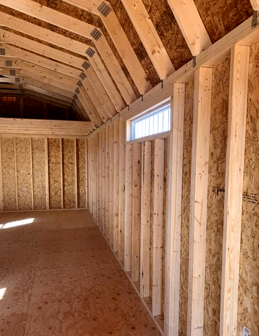 Yoder's Storage Sheds | Tips for Converting an Outdoor Shed into a Home Office | Barn with Loft | Colorado
