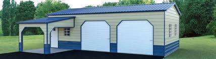 Combo Carport Garage | Yoder's Storage Sheds | Colorado