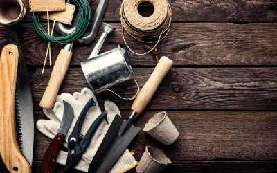 Suggested Garden Tools for a Properly Stocked Shed