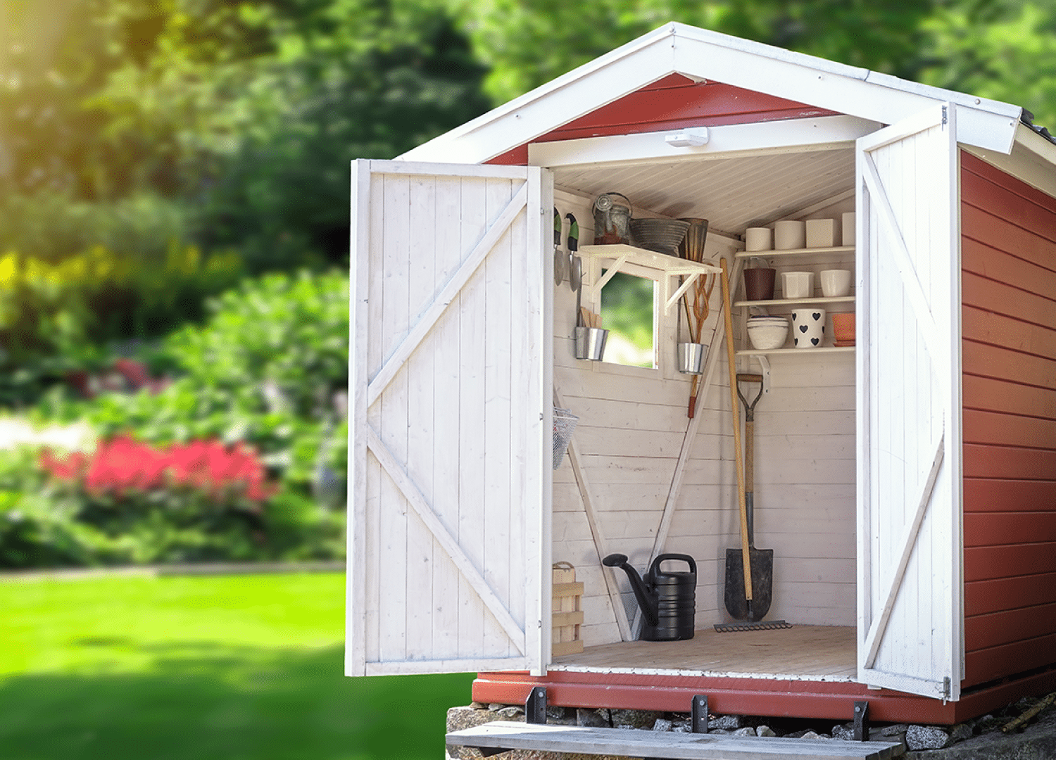 Yoder's Portable Buildings | Portable Shed | Garden Tools