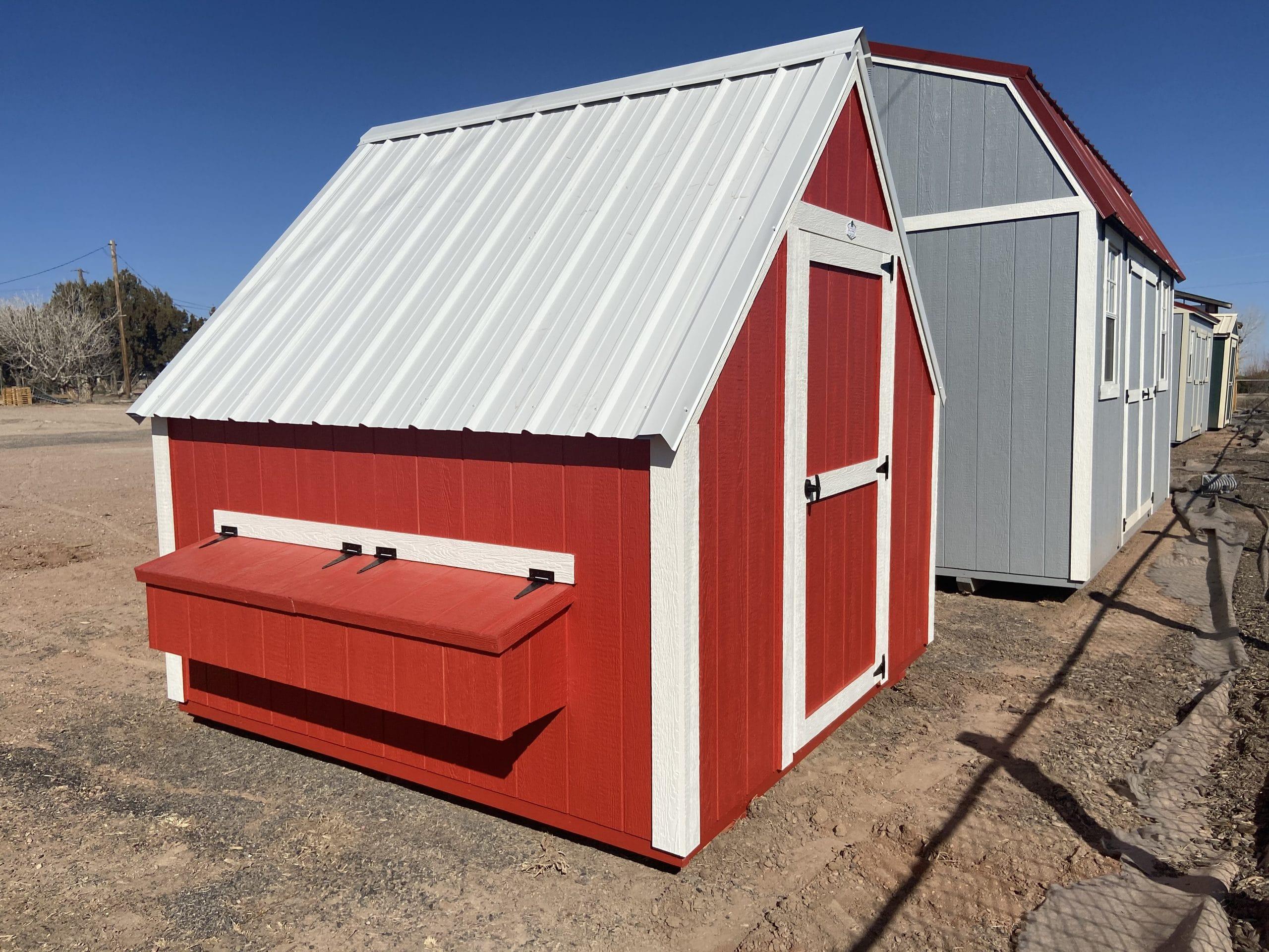 Yoder's Storage Sheds   Backyard Chicken Coop   Colorado